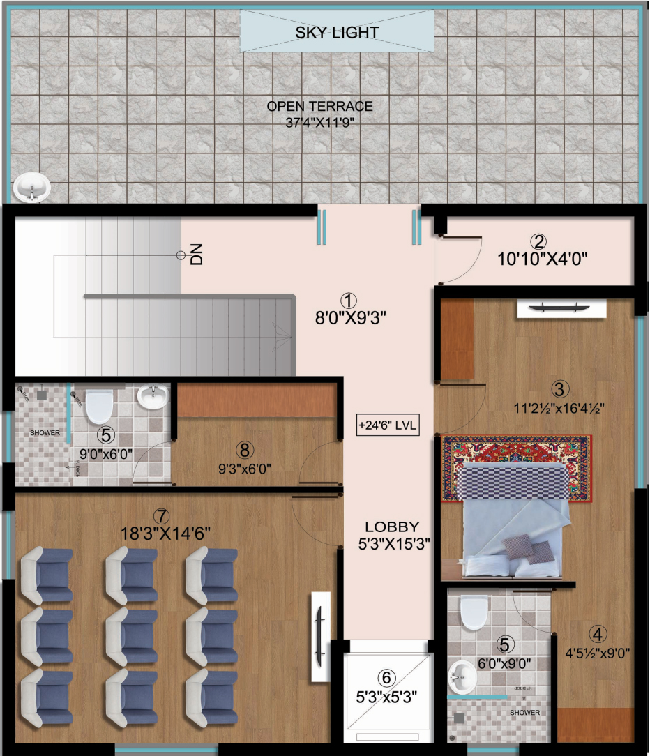 3 bhk flats for sale in gachibowli